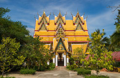At Wat Wang Wiwekaram Stock Photography