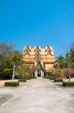 One of the impressive buildings of Wat Wang Wiwekaram Stock Image