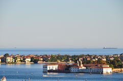 One of the Islands of the Venetian lagoon Royalty Free Stock Photos