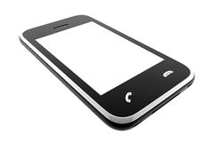 One isolated phone Stock Photos