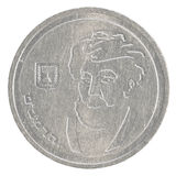 One Israeli New Sheqel coin - Rambam edition Stock Images