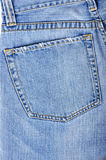 One jeans pocket Royalty Free Stock Photography