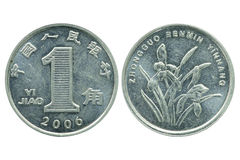 One jiao coin Stock Image