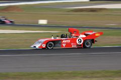 Formula 5000 race car at the Phillip Island Classic 2017 Royalty Free Stock Photo