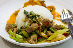 Thai spicy curry. Royalty Free Stock Image