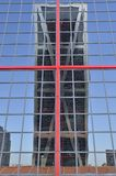 One Kio  Tower reflected Stock Images