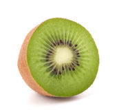 One kiwi fruit half Stock Images
