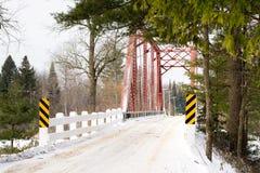 One Lane Bridge Royalty Free Stock Photography