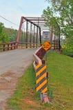 One lane country bridge Royalty Free Stock Photography