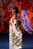 BUCURESTI, ROMANIA- 18.05.2018 Geisha Umekichi at Japanese Culture Days stock photos