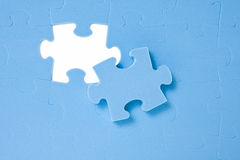 One last puzzle piece Royalty Free Stock Photos