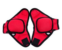 One lb weighted gloves with thumb lock design Stock Images