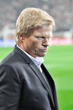 One of the legends of German goalkeeper Oliver Kahn Royalty Free Stock Image