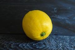 One lemon Royalty Free Stock Image