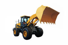 One Loader excavator Stock Photos