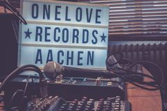 One Love Records Aachen Stock Images