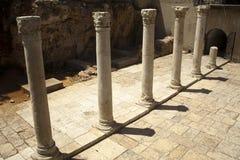 Ancient Main Road in Jerusalem Royalty Free Stock Photo