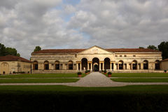 One of the main palaces of Mantua, Italy Royalty Free Stock Photos