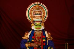 One of the major forms of classical  Kerala dance Royalty Free Stock Images
