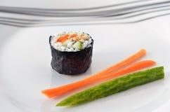 One Makizushi sushi fresh maki roll -Horizontal Stock Photography