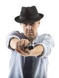 One man gangster Royalty Free Stock Image