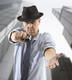 One man gangster Royalty Free Stock Photography