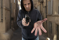 One man gangster Stock Photography