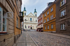 One of the many beautiful churches Warsaw Stock Image