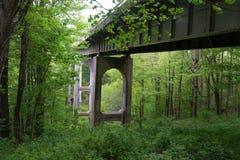 One of many Bridges on the Blue Ridge Parkway, Virginia, USA Stock Photos