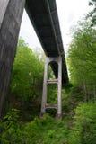 One of many Bridges on the Blue Ridge Parkway, Virginia, USA Stock Image