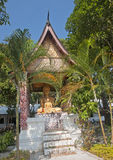 One of the many chapels of the temple in Luang Prabang royalty free stock images