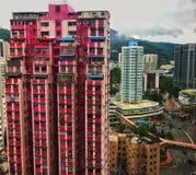Building apartment. stock photo