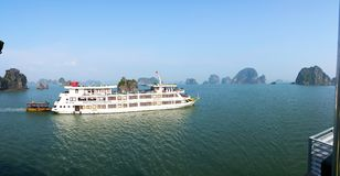 Halong Bay - Royal Wings Cruise Royalty Free Stock Photography