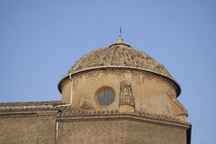 One of the many domes of Rome Royalty Free Stock Photography