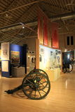 One of many educational exhibits, New York Military Museum,Saratoga Springs,New York,2016 Stock Photography