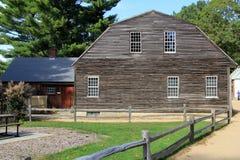 One of the many historic buildings around Old Sturbridge Village,Massachusetts,2014 Stock Image