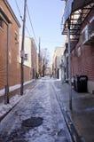 Philadelphia Alley Royalty Free Stock Photos
