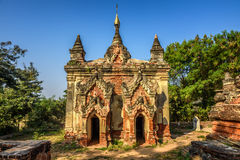 One of many ruined temples in Inwa, Myanmar Stock Images