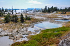 One of the many scenic landscapes of  Yellowstone National Park, Stock Images