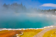 One of the many scenic landscapes of  Yellowstone National Park, Royalty Free Stock Image