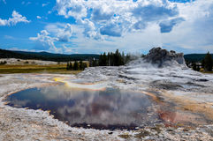One of the many scenic landscapes of Yellowstone National Park, Royalty Free Stock Photo