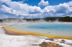 One of the many scenic landscapes of Yellowstone National Park, Stock Photos