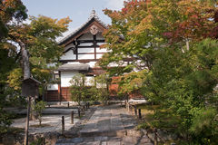 One of the many temples in Kyoto Royalty Free Stock Photo