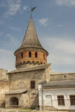 Tower of castle in  Kamianets Podilskyi, Ukraine,  Stock Photos
