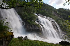 One of the many waterfalls, Norway, Skandinavien Stock Images