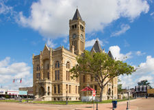 One of the many wonderful courthouses in Texas Royalty Free Stock Photography