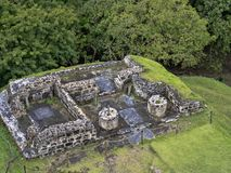 Mayan archaeological monuments of Xunantunich, Belize. One Mayan archaeological monuments of Xunantunich, Belize stock photos
