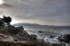 One Mean Golf Location. 17-mile drive contains some pretty wicked coastlines Stock Photography