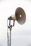 One mega phone on a  metal pole Stock Photography