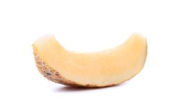 One Melon Slices On A White Background Royalty Free Stock Photo